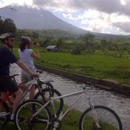 Best Cycling tour in Sidemen Bali