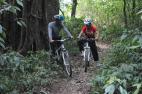 Cycling to tamblingan lake bali