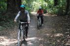 Cycling tour thru the jungle of Bali