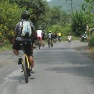Cycling tour to Mount Batur Volcano