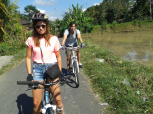 Bali Cycling Tour from Pacung Village to Ubud village