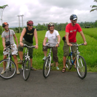 Cycling Tour in Ubud Bali