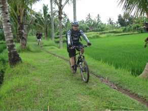top recommended cycling tour in Bali